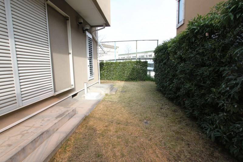 南側:お庭スペース