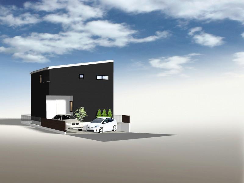 イメージパース:雲雀丘ビルダープロデュース「建築家とつくる完全自由設計の家」の魅力は、デザイン・間取り・設備・材質まで、お客様の思いのままの住まいを実現します。