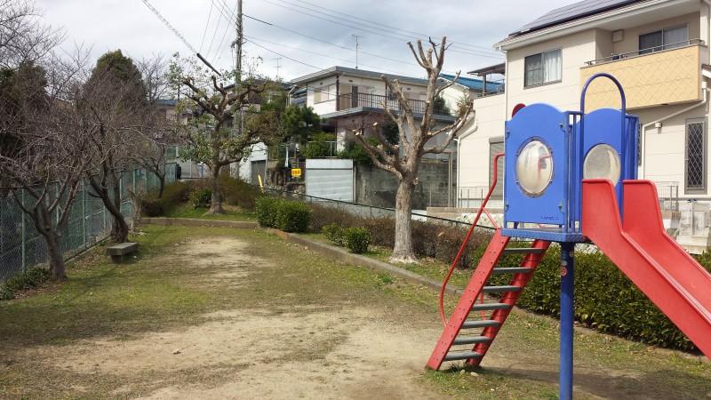 南側すぐ:霞ケ丘公園