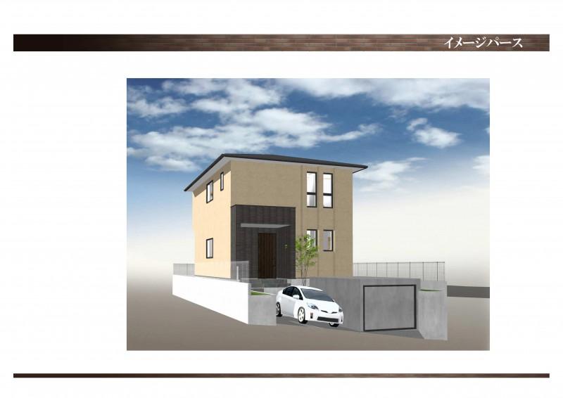 新築プラン(参考)建物標準価格1880万円(建物面積100㎡の場合)※旧家解体費用・造成費用が別途必要です。
