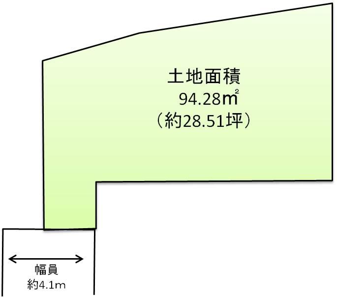区画図「宝塚市高司1丁目」