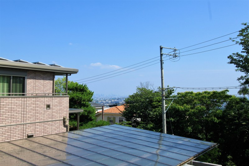 【物件南側からの眺望】2Fに大阪平野を一望できる間取りはいかがでしょうか。