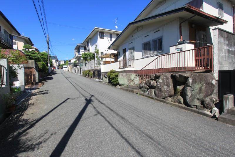 【接道】接道は北西側で幅員は6.0mです。