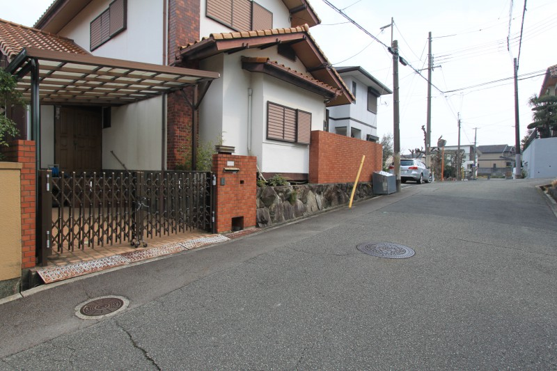 仁川駅まで徒歩15分、坂も少ないです。
